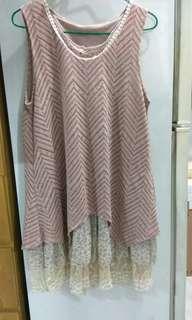 層層叠連衣裙