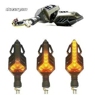 Motorcycle Sequential 流光 Led Signal Indicator New 835 Led Chips Built-in Load Resistor Plug & Play New Switchback Technology Click Read More For Demo Video