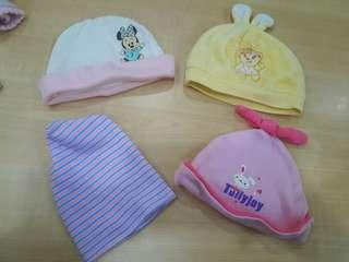 4 in 1 Baby Hats