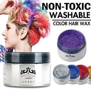 🚚 Japan Washable Colour Hair Wax - 7 colour available!