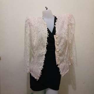 Formal Casual Lace Blazer Wear