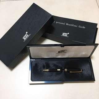 90年代 萬寶龍經典筆 Montblanc Meisterstuck Classique 164 Gold Ballpoint Pen