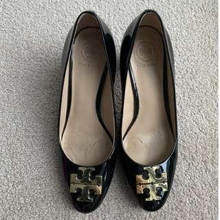 Tory Burch Heels in Black - Great Condition
