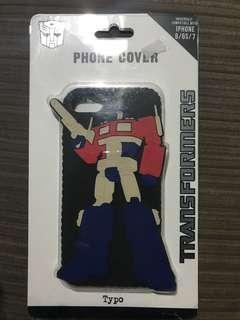 Iphone 6/6s/7 Case Transformer Typo