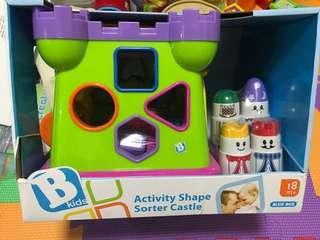 B kids 立方體多面積木玩具