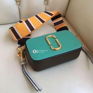 U.S STOCK CLEARANCE Marc Jacobs Snapshot Camera Bag - green