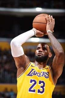 LeBron - Lakers Home Jersey