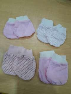 4 in 1 Baby Mittens