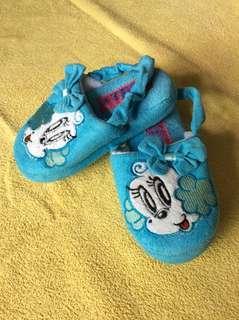 7/10 Bob Dog Baby / Kids / Toddlers Blue Cloth Home / Bedroom / Bathroom Slipper Shoes size 24-25 160 17cm