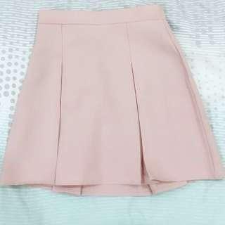 Korean-style Pink Skirt