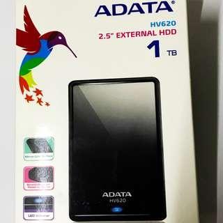 """1TB ADATA HV620 2.5"""" EXTERNAL HDD"""