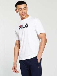 🚚 INSTOCK Authentic Fila Line Classic Logo Tee