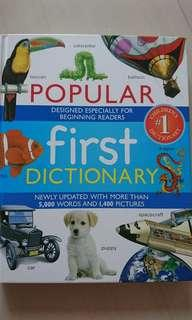 FIRST DICTIONARY for beginning readers