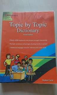 Topic by Topic Dictionary for kids