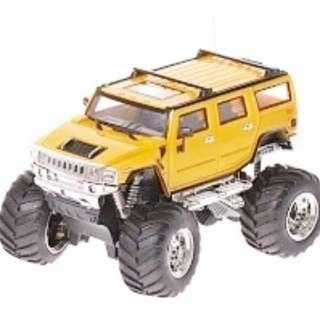 High Speed Control Series – Yellow Colour Hummer Jeep
