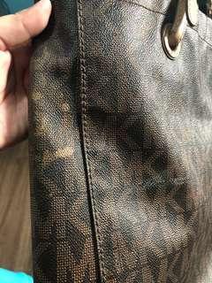 SALE! Sale! Original Leather MK Tote Bag Read Description!!