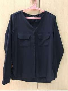 For Me Midnight Blue Long Sleeves