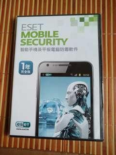 全新未開 Eset Mobile Security 1年完全版