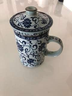 Collectible traditional teacup