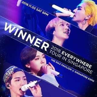 [LF/WTB] Winner Everywhere Tour In Singapore 1xPen A ticket
