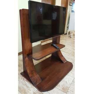 "Wooden TV Rack for 20"" to 40"" Flat and Slim TV"
