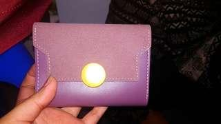 Dorotha Small Wallet - Purple
