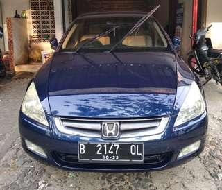 Honda accord 2.4 tahun 2004 vtiL matic