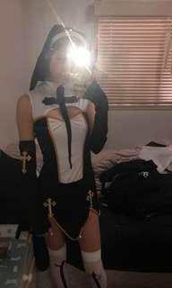 Nun Halloween costume RENTING ONLY