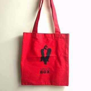 Armani Box Tote Bag 掛肩布袋