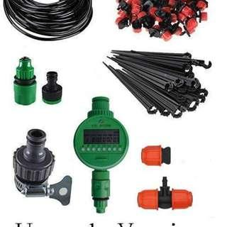 Micro Drip Irrigation System Plant Self Water Timer Garden Hose 30m ~ Upgrade Version