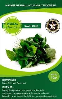 Masker Herbal Alami