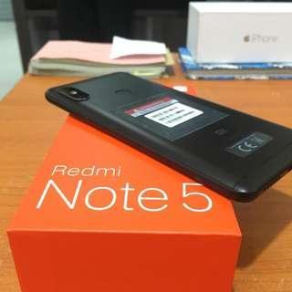 Xiaomi Redmi Note 5 4/64 Black Mulus Bisa Tt