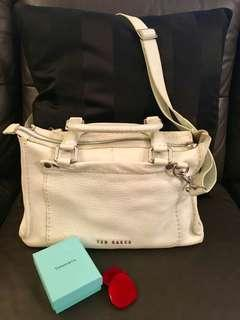 AUTHENTIC Ted Baker 2-way Genuine leather bag #XMAS25