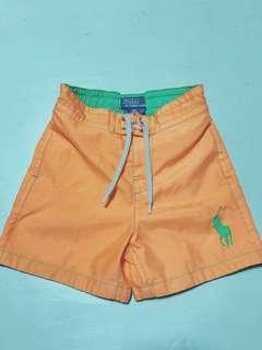 📣📣📣Polo小男孩橙色短褲