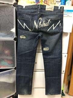 日本🇯🇵潮牌NEIGHBORHOOD 2002年款。低腰牛仔褲。👑記得follow 我。重有大量各品牌牛仔褲👖
