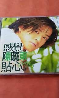 陳曉東 感覺貼心 有側紙 CD