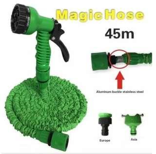 Auto Car Garden Copper High Pressure Water Hose Clean Nozzle Spray Gun Washing Tool - Intl