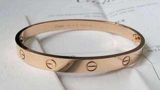 Authentic Cartier Bracelet Bangle