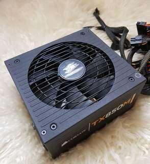 Corsair TX850M Desktop Computer PC Power Supply Unit