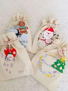 Pouch Bags for Christmas Presents