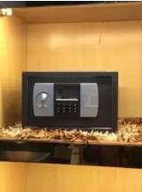 Electronic password safe deposit box safe