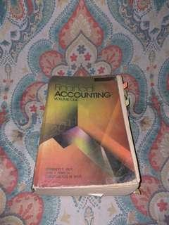 Financial Accounting volume 1