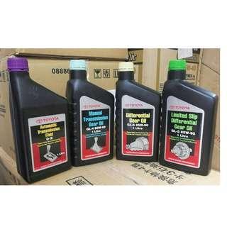 100% Original Toyota Gear Oil 1 Liter
