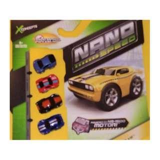 NANO SPEED - V8 4-Car Set