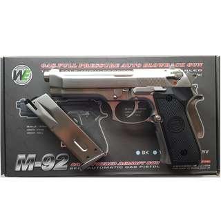 WE MODEL M92 BERETTA GBB AIRSOFT