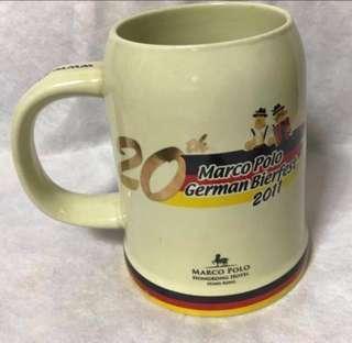 2011 絕版🍻德國啤酒杯
