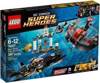 LEGO 76027 Black Manta Deep Sea Strike