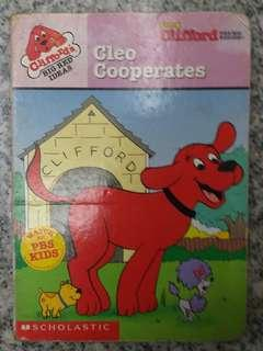 Clifford's Big Red Ideas: Cleo Cooperates (board book)