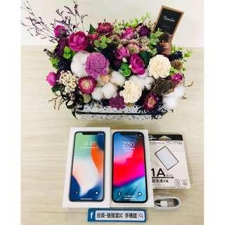 【強強滾3C】二手iphonex 256g 銀(保固到2018/12/6)#70928