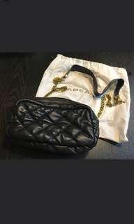 Rabeanco 黑色皮手袋